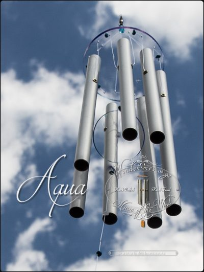 Aqua wind chime - Windchimes.co.za