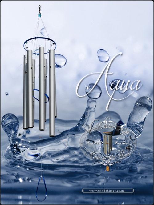 Aqua wind chime - Windchimes.co.za