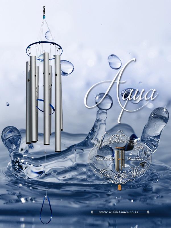Aqua wind chime