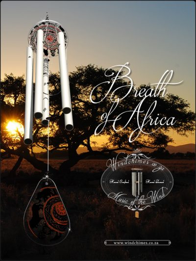 Breath of Africa wind chime - Windchimes.co.za