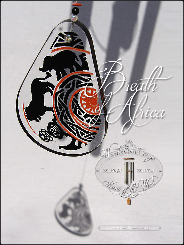 Breath of Africa wind chime - Windchimes.co.za