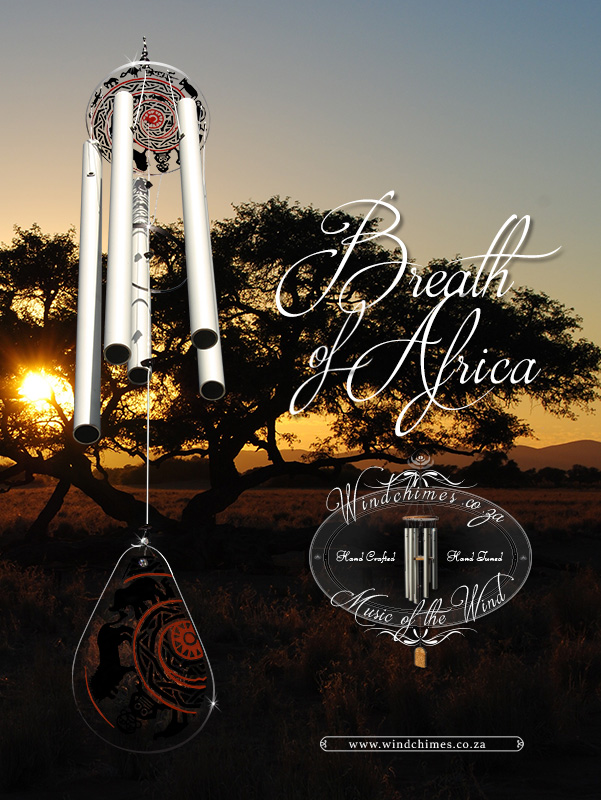 Breath of Africa wind chime