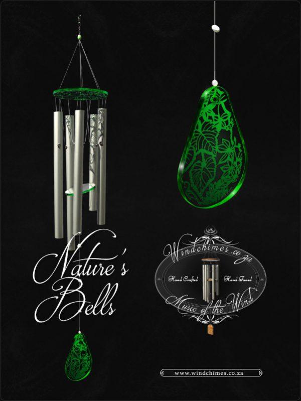 Nature's Bells wind chime - Windchimes.co.za