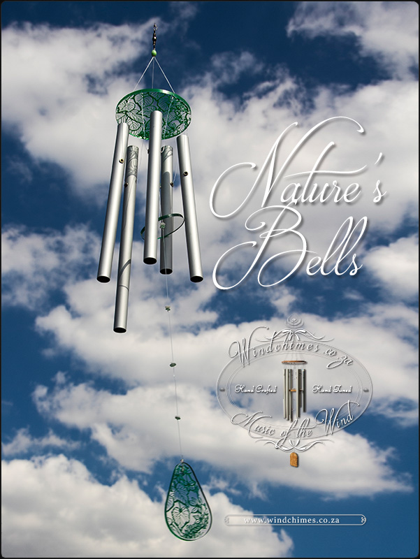 Nature's Bells wind chime - Windchimes.co.za