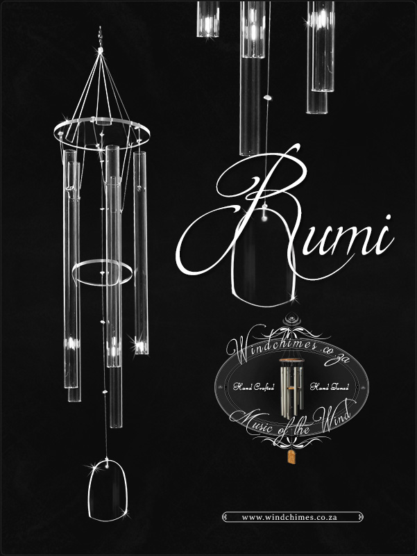 Rumi wind chime - Windchimes.co.za