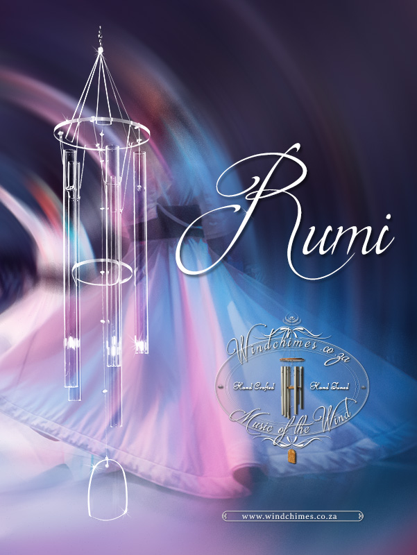 Rumi wind chime